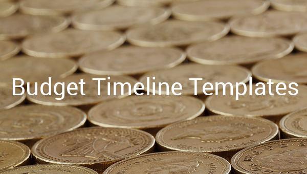 budget timeline templates