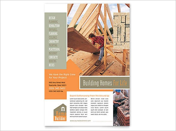 building holmes for life advertising flyer