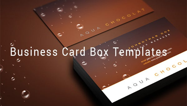 business card box templates1