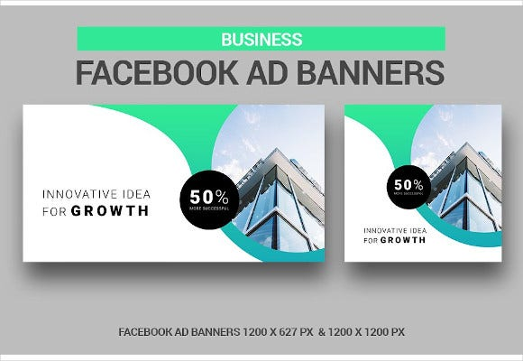 business facebook ad banners