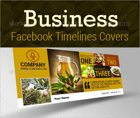 business facebook timeline cover psd format design
