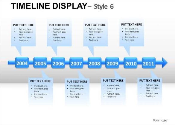 11 business timeline templates free word ppt pdf format business timeline display 6 powerpoint template toneelgroepblik Gallery