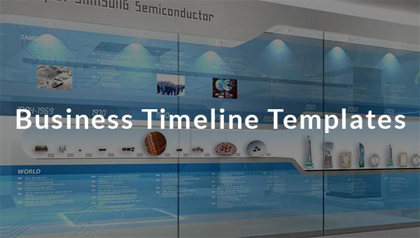 businesstimelinestemplates