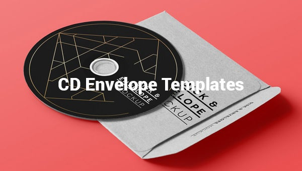 cd envelope templates