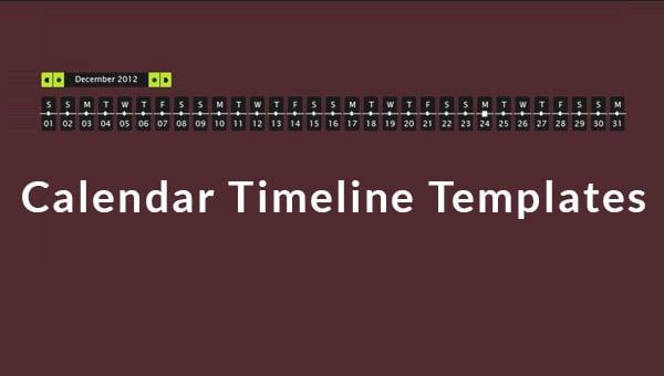 calendartimelinestemplates
