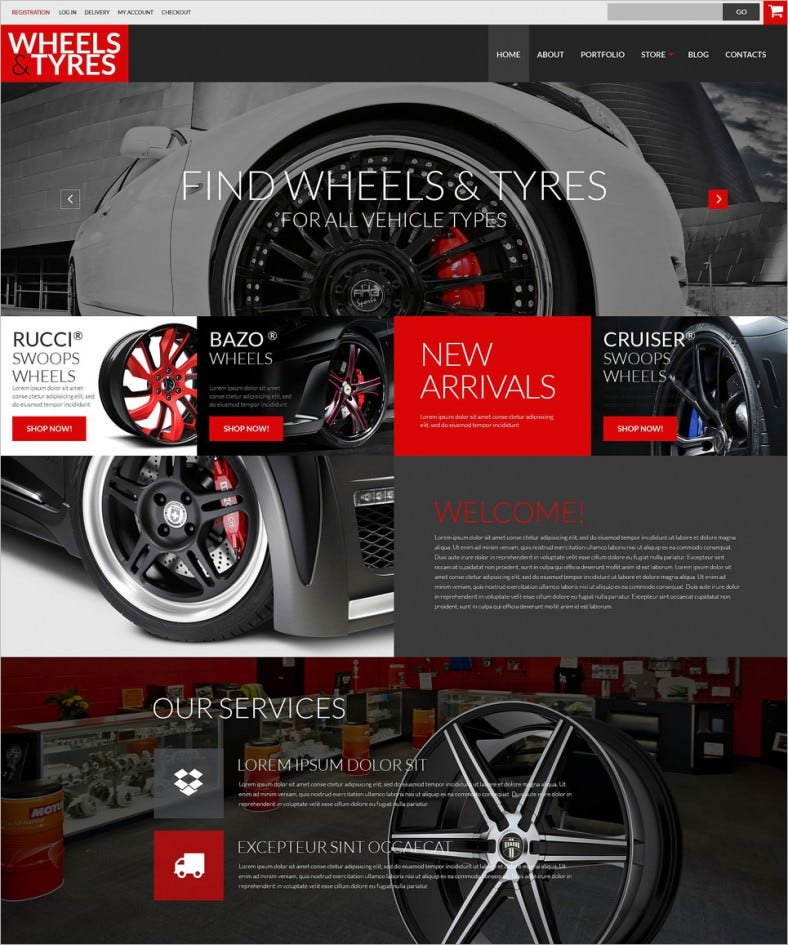 car parts accessories woocommerce theme 788x945