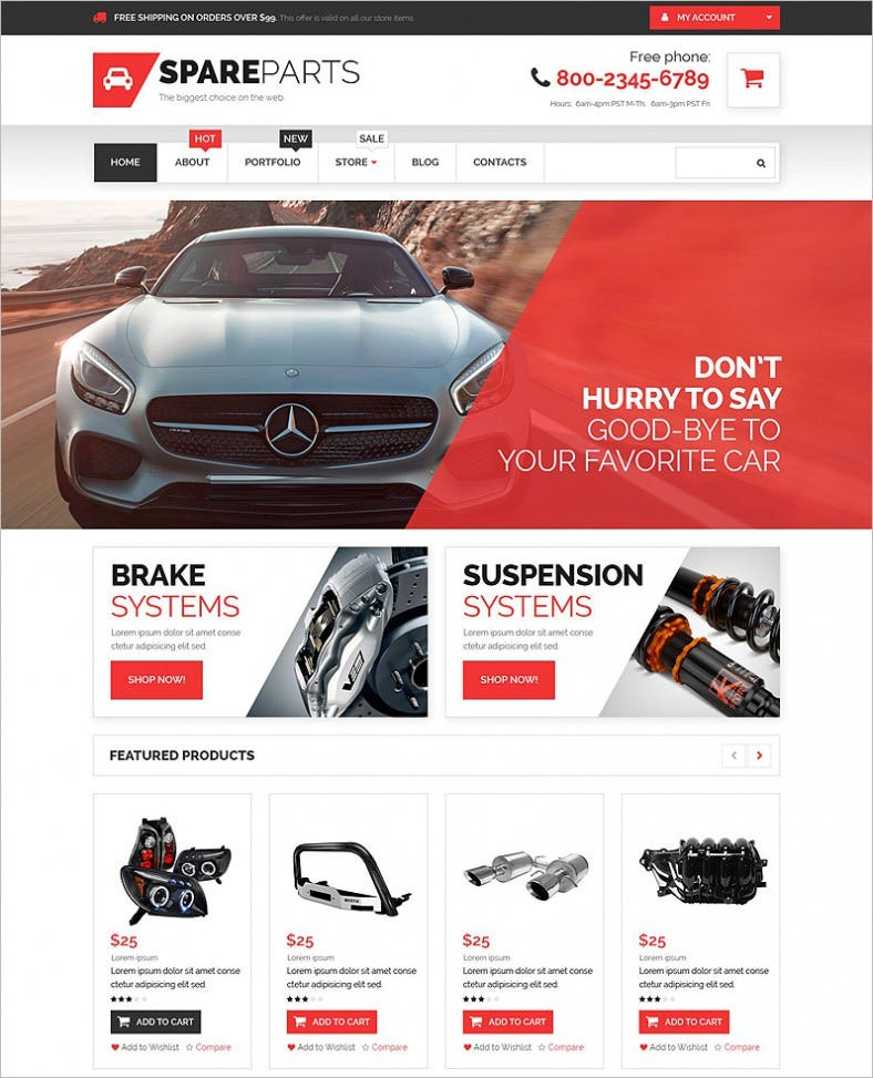 car parts store woocommerce theme 788x973