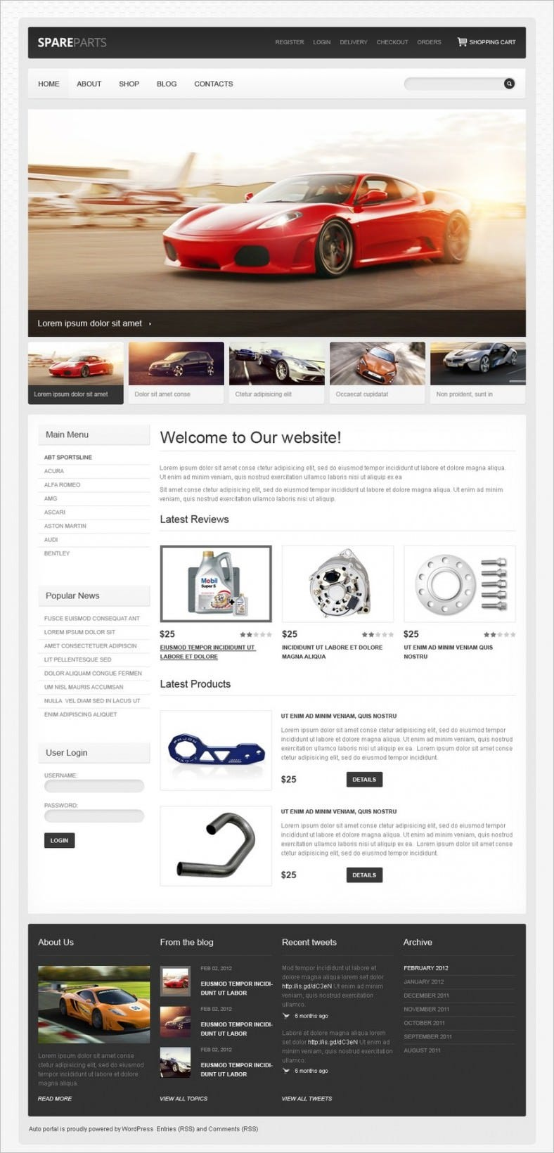 car spares jigoshop theme 788x1640