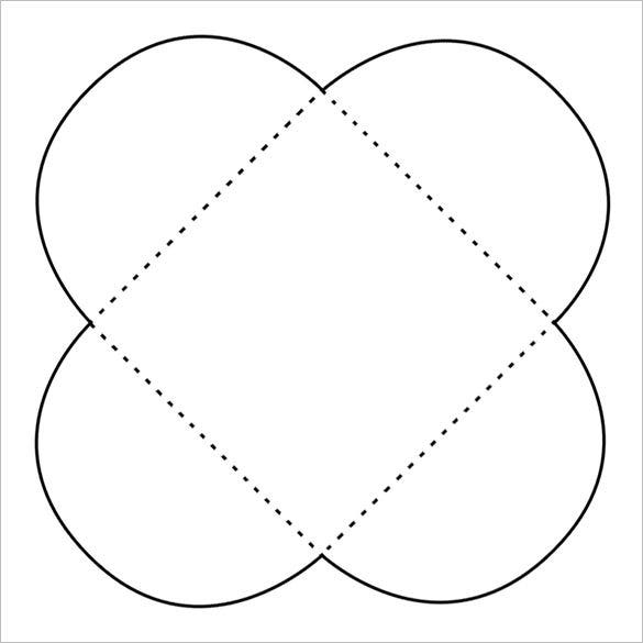 card and cd or dvd petal envelope free download - Free Envelope Template