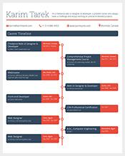 Career-Timeline-Free-PSD-Template