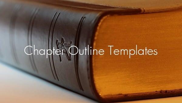 chapteroutlinetemplates
