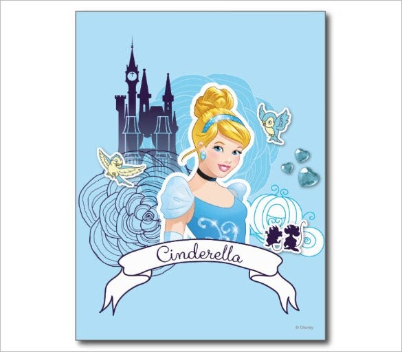 cinderella gracious heart postcard