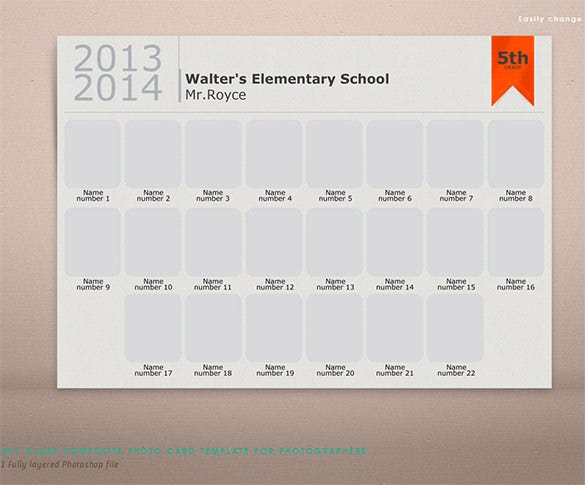 Classroom Photo Storyboard Psd Download