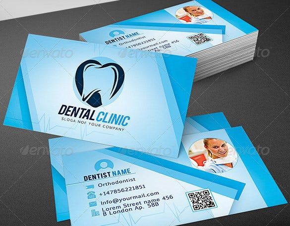 Dentist dental clinic business card template 40 free psd format clean dentist business card psd format accmission Image collections