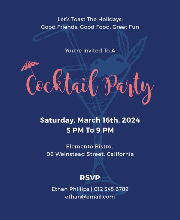 cocktail-party-invitation-template