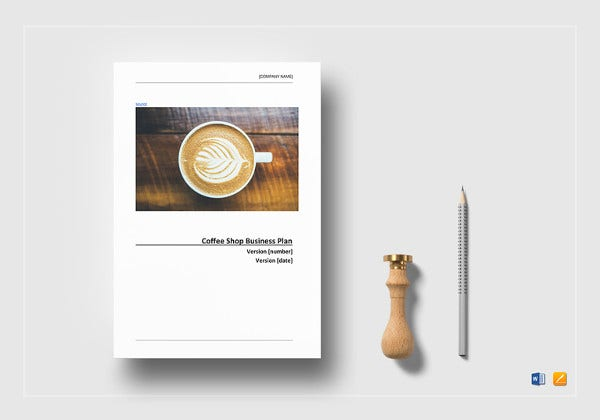 Cafe business plan template 14 free word excel pdf format coffee shop business plan template friedricerecipe Gallery