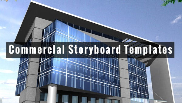 commercial storyboard templates