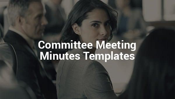 committeemeetingminutestemplates