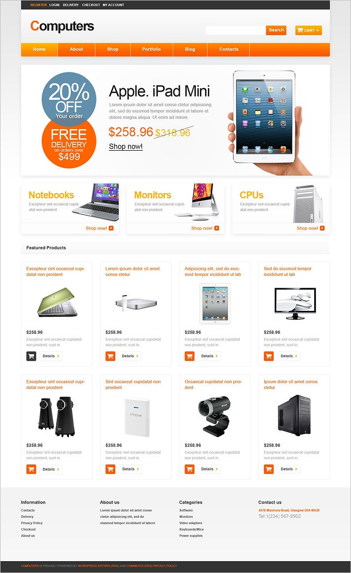 computer store responsive woocommerce theme 2