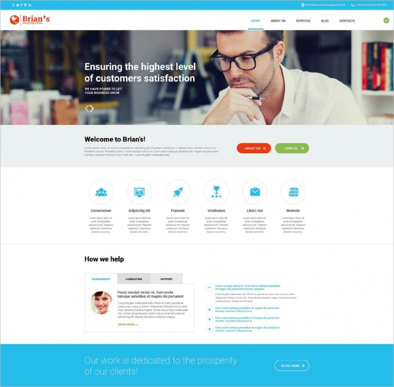 consulting agency wordpress theme 788x774