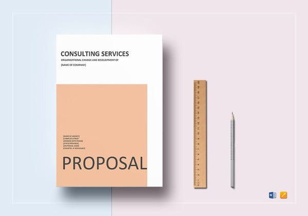 consulting proposal word template