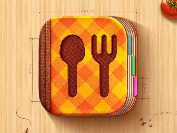 cook book ios icon