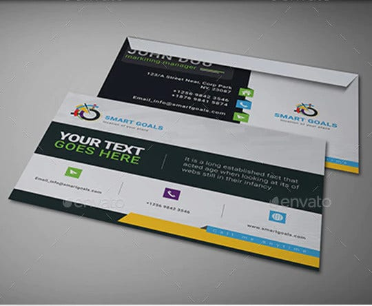 corporate envelope template