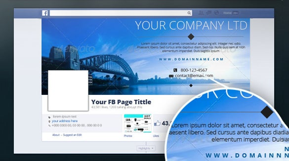 Sample Facebook Timeline Creative Fb Covers Examples For