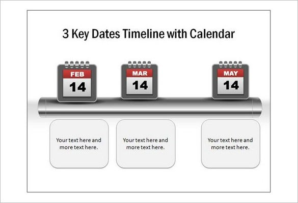 create a calendar timeline in powerpoint