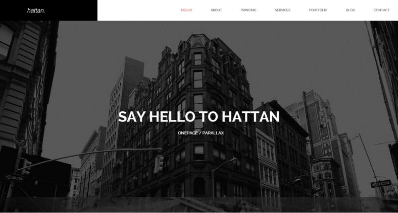 Creative Onepage Wordpress Theme