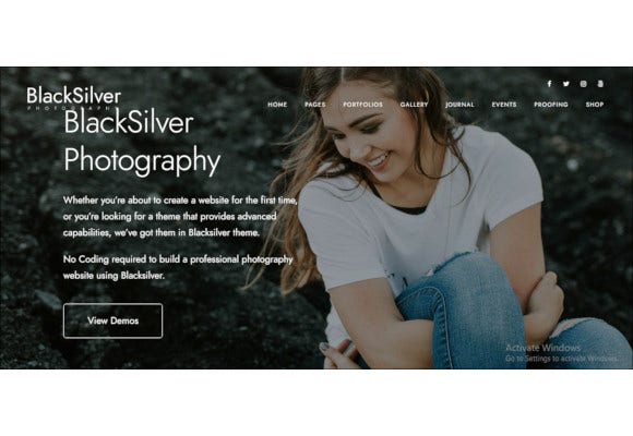 creative photography php theme