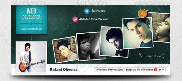 17 Amazing Psd Facebook Timeline Cover Templates Designs