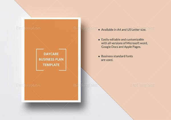 Daycare business plan template 12 free word excel pdf format daycare business plan template cheaphphosting Images