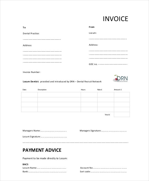 dental-invoice-template