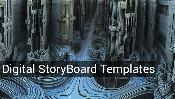 digital storyboards templates