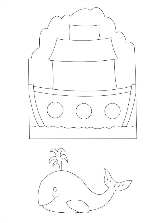 download ark and whale template