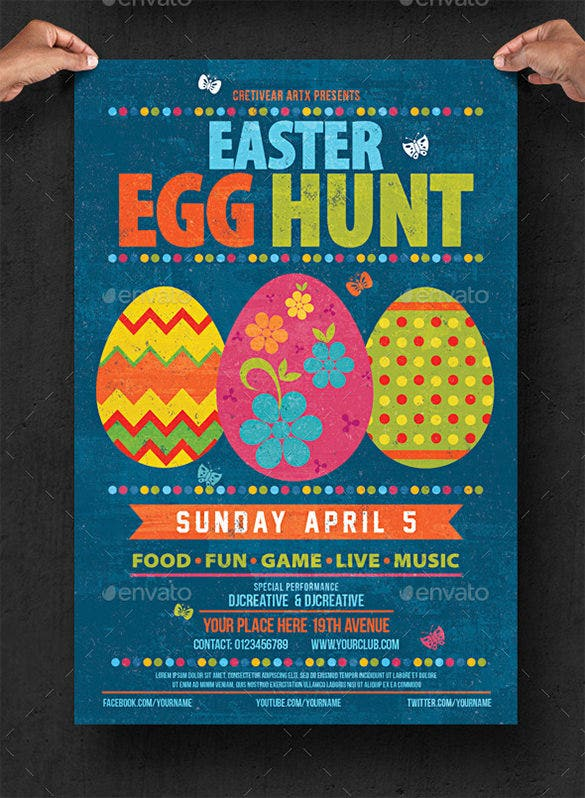 download easter egg hunt flyer