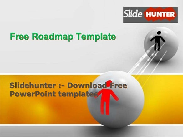 Microsoft PowerPoint Template 30 Free PPT JPG PSD Documents – Roadmap Template Free