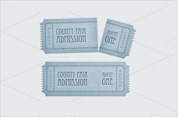 dance admission ticket template .