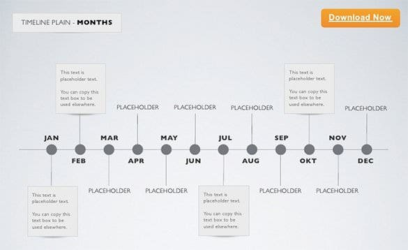 12 keynote timeline templates free sample example format download timeline keynote template month example toneelgroepblik Image collections