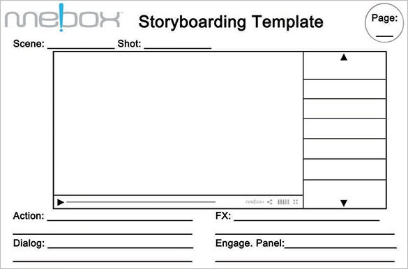 Website Storyboard Templates   Free Word Excel Pdf Ppt