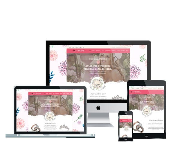 et bridal wedding joomla templat