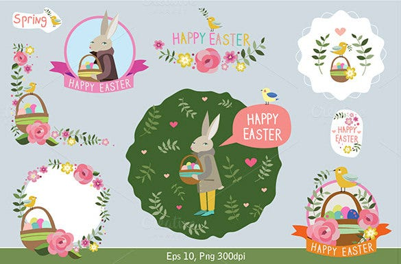 easter designs invitation template