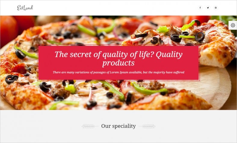 eatland ecommerce and delivery landing page 788x477