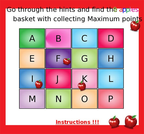 education alphabetical story board template online
