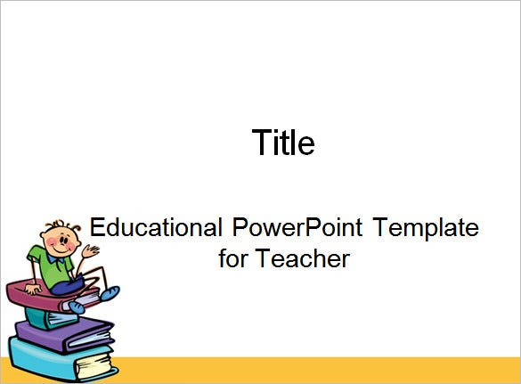 educational powerpoint template for teacher