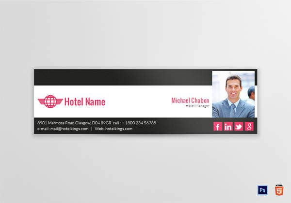 email-signature-for-hotel-restaurant-manager