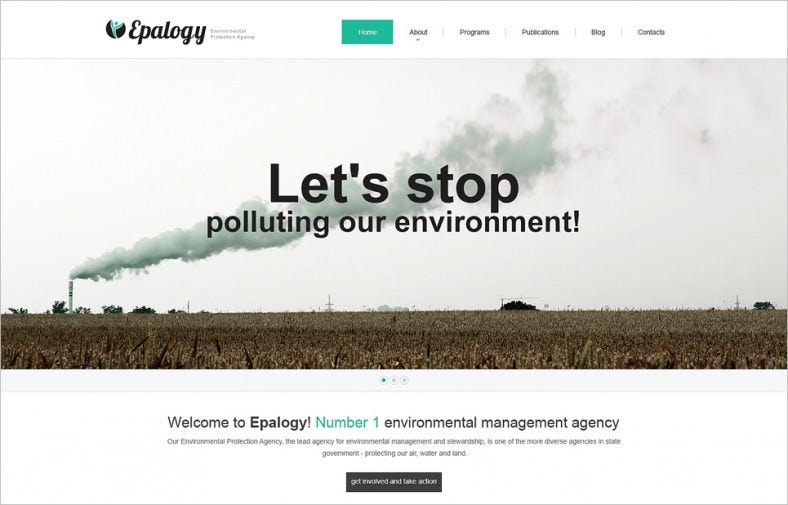 environmental responsive wordpress theme 2 788x505