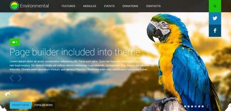 environmental responsive wordpress theme1 788x380