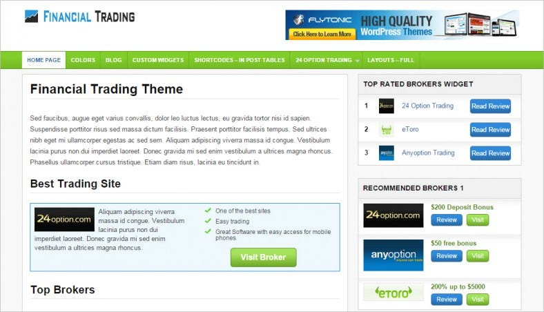 financial trading theme 788x452
